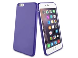 Capa MUVIT Minigel Apple iPhone 6 Plus, 6s Plus Roxo — Compatibilidade: iPhone 6 Plus, 6s Plus
