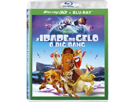 Blu-Ray 3D + Blu-Ray Idade do Gelo 5: O Big Bang — De: Mike Thurmeier