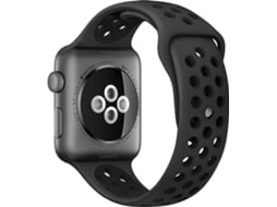 APPLE Watch Nike+ 38mm Space Grey Aluminium Case Anthracite Black Band — iOS / 38 mm / Bluetooth 4.0 e Wi-fi