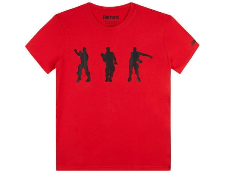 T-Shirt FORTNITE Red Floss para 12 Anos