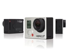 Action Cam GOPRO HD Hero 3+ Silver Edition — Full HD | Wi-Fi | Até 3h