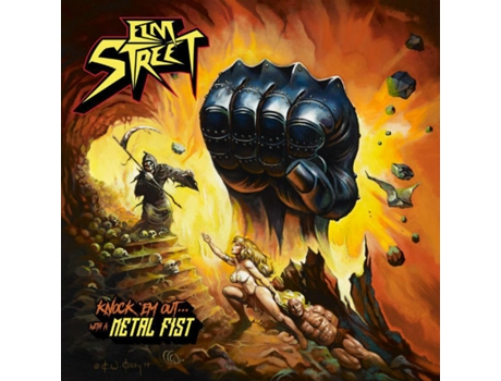 CD Elm Street - Knock 'Em Out... With A Metal Fist