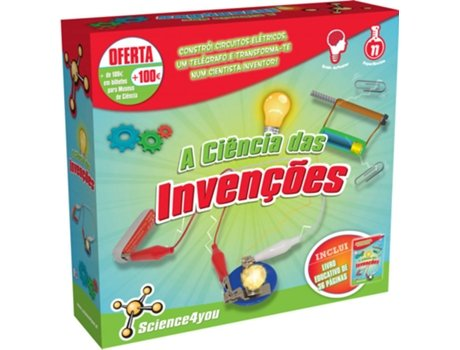 Kit SCIENCE4YOU A Ciência das Invenções — Science4You