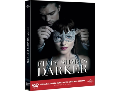 DVD As Cinquenta Sombras Mais Negras - Edição Colecionador — De: James Foley / Com: Dakota Johnson,  Jamie Dornan,  Eric Johnson