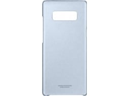 Capa SAMSUNG  Clear Azul — Compatibilidade: Galaxy Note 8