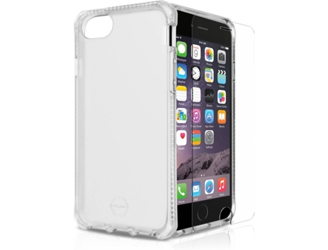 Capa ITSKINS Spectrum iPhone 6, 6s, 7, 8 Transparente — Compatibilidade: iPhone 6, 6s, 7, 8