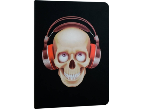 Capa iPad 9,7'' EVITTA  Air 2 Skull — 9.7''