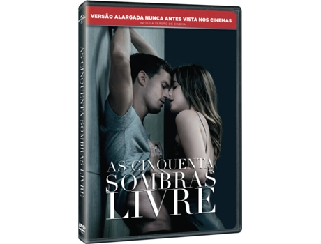 DVD Cinquenta Sombras Livre — De: James Foley | Com: Dakota Johnson, Jamie Dornan, Eric Johnson
