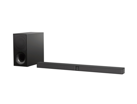 Soundbar 2.1 SONY HT-CT290 — Canais: 2.1 | Subwoofer sem fios | Bluetooth