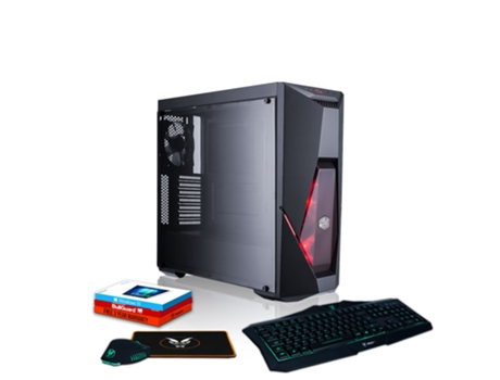 Desktop Gaming FIERCE Cobra (Intel Core i5-8600K - NVIDIA GeForce GTX 1660 - RAM: 16 GB - 2 TB HDD + 240 GB SSD) — Windows 10 Home | Wi-Fi