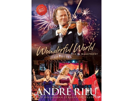 CD/DVD André Rieu - Wonderful World: Live In Ma — Pop-Rock