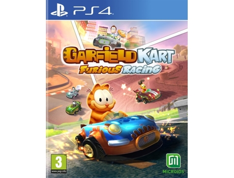 Jogo PS4 Gardield Kart Furious Racing