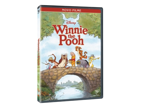 DVD Winnie The Pooh - O Filme — De: Stephen J. Anderson, Don Hall | Com: Jim Cummings, John Cleese