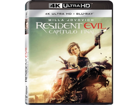 Blu-Ray 4K + Blu-Ray - Resident Evil: Capítulo Final — Do realizador Paul W.S. Anderson