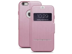 Capa Sense Cover iPhone 6/6S Plus Rosa MOSHI — Capa / iPhone 6/6S Plus