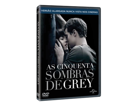 DVD As Cinquenta Sombras de Grey — De: Sam Taylor-Johnson | Com: Dakota Johnson, Jamie Dornan, Jennifer Ehle