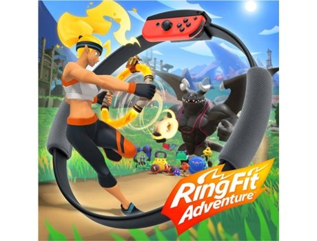 Jogo Nintendo Switch Ring Fit Adventure (Fitness - M7)