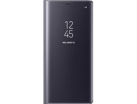 Capa SAMSUNG Clear View Galaxy Note 8 Roxo — Compatibilidade: Samsung Galaxy Note 8