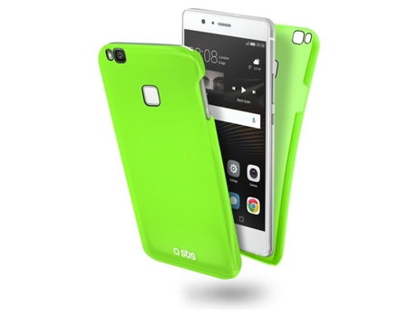 Capa  SBS Color Feel Verde — Compatibilidade: Huawei P9 Lite