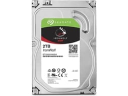 Disco interno 3.5'' Seagate IRONWOLF 2TB —  3.5'' / 2TB / Serial ATA III