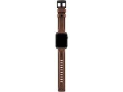 Bracelete UAG Italea Apple Watch 42, 44 mm Castanho