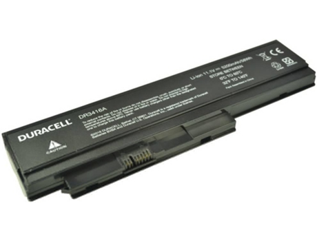 Bateria DURACELL DR3416A — Compatibilidade: DR3416A