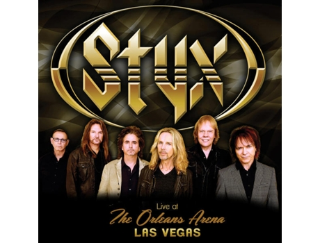 CD Styx - Live At The Orleans Arena Las Vegas