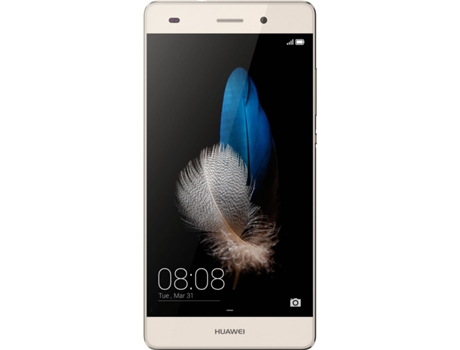 Smartphone HUAWEI P8 Lite Dourado — Android 5.0 / 5.0'' / 4G / Octa Core 1.2 GHz
