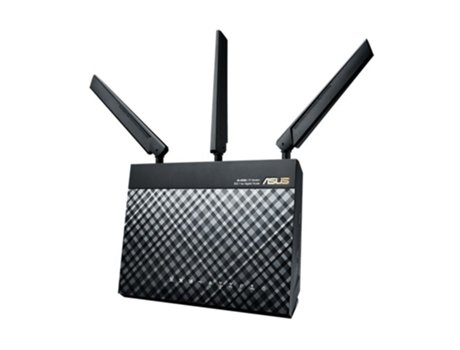 Router ASUS 4G/LTE AC1200 5XGiga AC55U — Single Band / 1200 Mbps