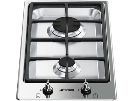 Placa Dominó SMEG PGF32G — Dominó Gás Natural / Largura: 31cm