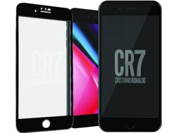 Película Vidro Temperado PANZERGLASS CR7 Apple iPh8 Pl us — Compatibilidade: iPhone 6, 6s, 7 e 8 Plus