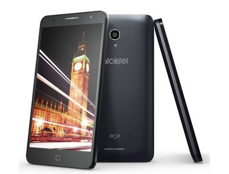 Smartphone NOS Alcatel Pop 4 5'' Preto — Android 6.0 / 5'' / 4G / Quad-core 1.1 GHz