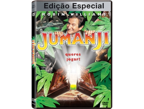DVD Jumanji - Edição Especial — De: Joe Johnston | Com: Robin Williams, Kirsten Dunst, Bonnie Hunt