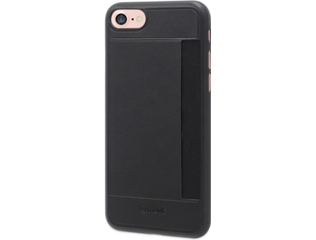 Capa MUVIT Ultrafina Slot iPhone 7, 8 Preto — Compatibilidade: iPhone 7, 8