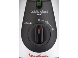 Liquidificador MOULINEX Faciclic Glass LM310E1 (1.5 L - 500 W) — 500W | 1,5L