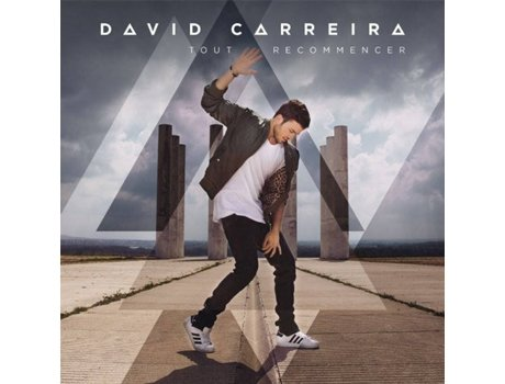 CD David Carreira - Tout Recommencer — Portuguesa