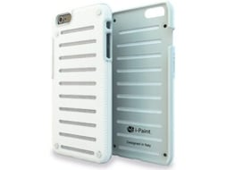 Capa I-PAINT Metal iPhone 6 Plus, 6s Plus Branco — Compatibilidade: iPhone 6 Plus, 6s Plus
