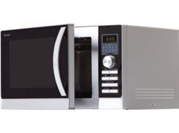 Micro-ondas SHARP R843INW — 25L / 900W / Digital