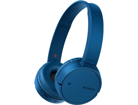 Auscultadores Bluetooth SONY WH-CH500 (On Ear - Microfone - Azul) — On Ear | Microfone | Atende chamadas