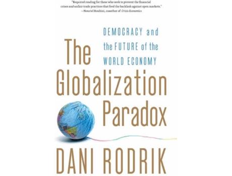 Livro The Globalization Paradox de Dani Rodrik (Inglês)