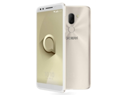 Smartphone ALCATEL 3X 32 GB Dourado — Android 7.1 | 5.7'' | Quad-Core 4x1.28 GHz | 3GB RAM