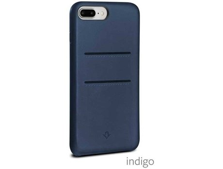 Capa TWELVE SOUTH Pockets iPhone 6 Plus, 6s Plus, 7 Plus, 8 Plus Azul — Compatibilidade: iPhone 6 Plus, 6s Plus, 7 Plus, 8 Plus