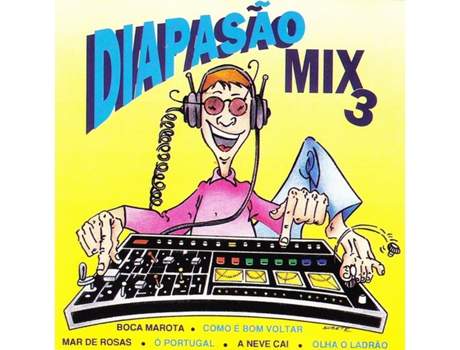 CD Agrupamento Musical Diapasão-Diapasão Mix 3 — Portuguesa