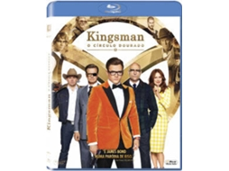 Blu-Ray Kingsman: O Círculo Dourado — De: Matthew Vaughn / Com: Taron Egerton, Colin Firth, Mark Strong