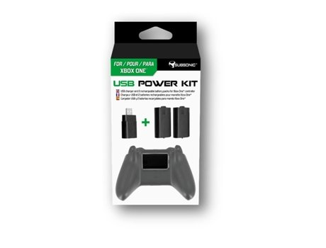 Power Kit SUBSONIC USB para Xbox One — Compatibilidade: Xbox One
