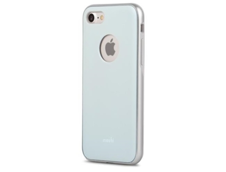 Capa MOSHI iGlaze iPhone 7, 8 Azul — Compatibilidade: iPhone 7, 8