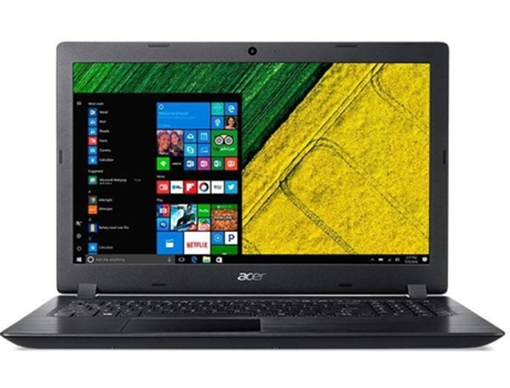 Portátil 15.6'' ACER Aspire 3 A315-51-310J — Intel Core i3-7020U | 4 GB | 1 TB HDD