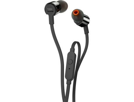 Auriculares Com Fio Jbl T 210 (In Ear - Microfone - Preto)   [6037007 ]
