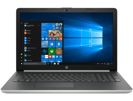 Portátil HP 15-Da0057Np (15.6'' - Intel Core i5-8250U - 8 GB RAM - 128 GB SSD - NVIDIA GeForce MX110) — Windows 10 Home | NVIDIA GeForce MX110