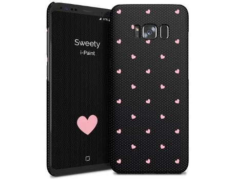 Capa I-PAINT Hard Samsung S8 Plus Sweety — Compatibilidade: Galaxy S8 Plus